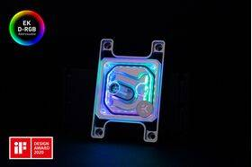 EK-Quantum Magnitude D-RGB - AM4 Nickel + Plexi