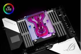 EK-Quantum Momentum ROG Rampage VI Encore D-RGB - Plexi