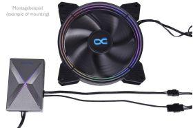 Alphacool Eis-Matrix II Aurora Digital RGB Controller - Black