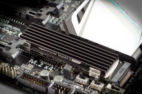 Aqua-Computer kryoM.2 micro passive heat sink for M.2 2280 SSD
