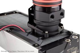 Aqua-Computer Mounting bracket 120 mm fan mount for ULTITUBE D5 reservoir