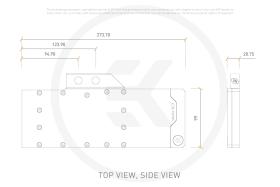 EK-Quantum Vector EVGA XC3 RTX 3080/3090 D-RGB Nickel Plexi