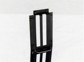 Mountain Mods 2 PCI Modular IO bracket - Anodized Black - 2PCIIOAB