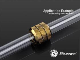 Bitspower True Brass Enhance Dual Multi-Link For OD 12MM - BP-TBEDML
