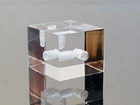 Mountain Mods Polished Acrylic Assembly Cube (Right Side) - ACBR
