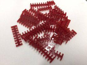 Cable Comb - Mega Pack! - 35pcs - Blood Red