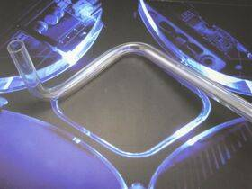 XSPC PETG Hard / Rigid Tubing - 14/10mm - 2x0.5M - CLEAR - 2 pack