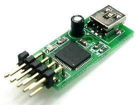 Ultimarc U-HID Nano PCB with USB cable