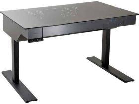 Lian Li DK-05X Black Aluminum / Steel Computer Desk Case