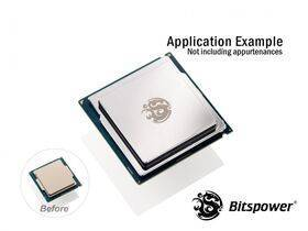 Bitspower CPU Integrated Heat Spreader (Silver Shining) - BP-OCCIHS-SL