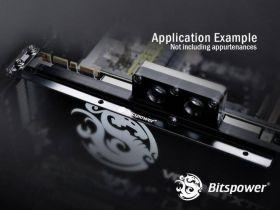 Bitspower Universal Support For VGA White (Dual PCI Slot Design)