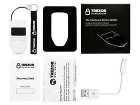 TREZOR Hardware Wallet - White