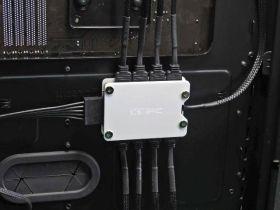 XSPC 8 Way, 3Pin, 5V, Addressable RGB Splitter Hub - SATA Powered (White)