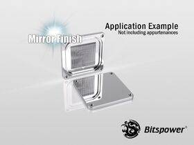 Bitspower CPU Block Summit EF-X Golden - BP-WBCPUEFX-GD