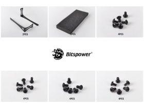 Bitspower 120 Radiator Holder / Stand - BP-120RADHV2-BK
