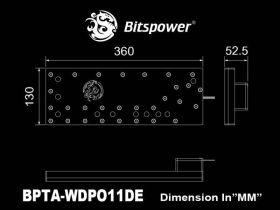Bitspower Touchaqua Sedna O11D for LIAN LI O11 DYNAMIC