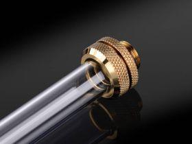 """Bitspower G1/4"""" True Brass Enhance Multi-Link For OD 14MM - BP-TBEML14"""