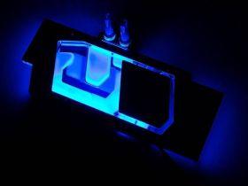 Watercool HEATKILLER® IV for ASUS RTX 2080 Ti STRIX - ACRYL Ni-Bl RGB
