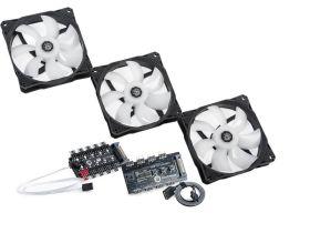 Bitspower Touchaqua Notos 120 Fan Digital RGB (3PCS)