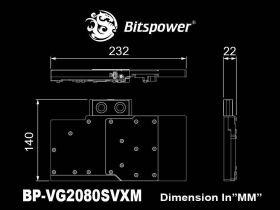 Bitspower Brizo VGA Water Block for MSI GeForce RTX 2080 SUPER VENTUS XS OC