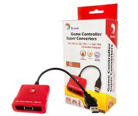 Brook Wii/Wii-U/SW/PS4 to SW/PS4 Controller Super Converter Adapter