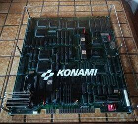 Konami Violent Storm board Acrylic Case, installed by a customer