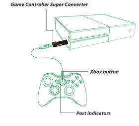Brook Xbox 360/Xbox One to Xbox One Super Converter