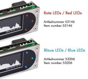 Aqua-Computer Aquaero 6 XT Blue USB fan controller, graphic LCD, touch control, IR remote control - 53206