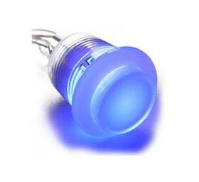 Ultimarc Gold-Plated Leaf Switch RGB Illuminated Pushbutton Blue
