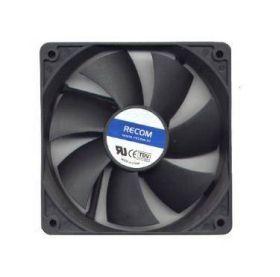 80mm Recom RC8015B Black Blower 80mm Fan Slim 15mm - 2000RPM