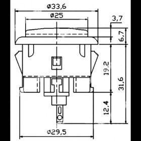 Sanwa 30mm Button - OBSF-30
