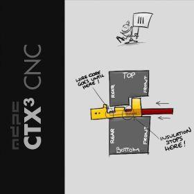 MDPC-X Original Crimping Tool CTX3 for ATX, MINI-FIT-JR and FAN