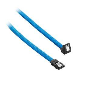 CableMod ModMesh Right Angle SATA 3 Cable 60cm - Light Blue
