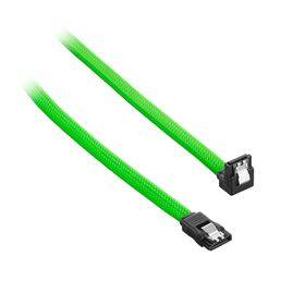 CableMod ModMesh Right Angle SATA 3 Cable 60cm - Light Green