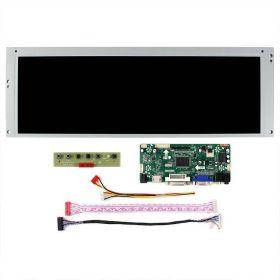 "LCD Widescreen Display Screen - 14.9"" 1280x390 - HDMI VGA DVI input"