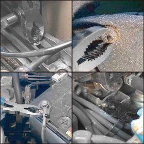 Screw Removal Plier - Engineer PZ-55