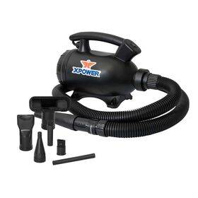 IT Dusters Xpower A-5 1000 Watt, Electric Air Duster & Vacuum, Suck and Blow