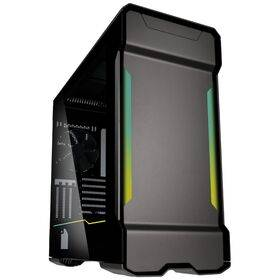 Phanteks Enthoo Evolv X Digital RGB Midi Tower Tempered Glass Gaming Case - Gunmetal Grey