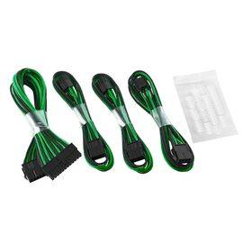 CableMod Basic ModFlex™ Cable Extension Kit - Dual 6+2 Pin Series Black/Green