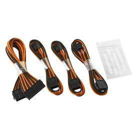 CableMod Basic ModFlex™ Cable Extension Kit - Dual 6+2 Pin Series Black/Orange