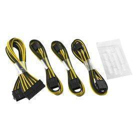CableMod Basic ModFlex™ Cable Extension Kit - Dual 6+2 Pin Series Black/Yellow