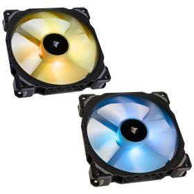 Corsair ML140 Pro RGB 140mm Premium Magnetic Levitation PWM Fan with Lighting Node - Twin Pack