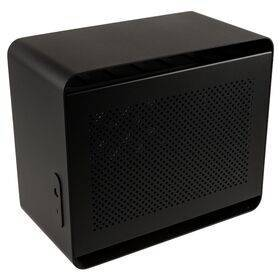 Streacom DA2 Mini ITX Case - Black