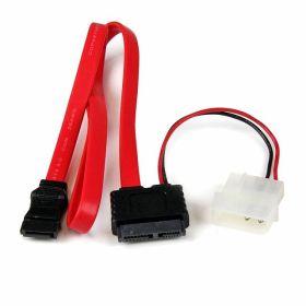 Slimline SATA Kabel 7-pin Serial-ATA en 6-pin Power naar SATA en Molex