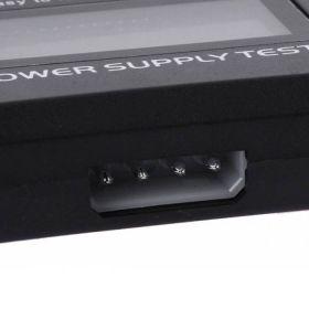 PSU / Power Supply Tester LC-Display 20/24-Pin ATX