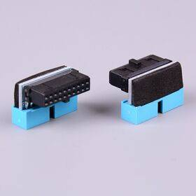 USB 3.0 20-Pin Internal Header 90 degree male/female extender connector