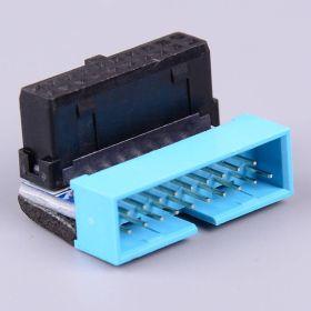 USB 3.0 20-Pin Internal Header 90 degree male/female extender connector
