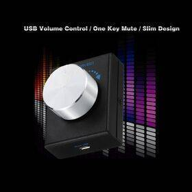 Remote USB Audio Volume Control Knob with Mute Function