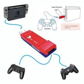 Brook PS3/PS4 to Nintendo Switch Controller Super Converter Adapter