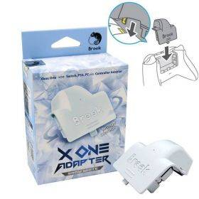 Brook X One Adapter - Xbox One to Switch/PS4/PC (XID) with Battery Pack - White
